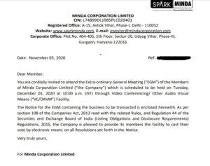 Investors Invitation Letter