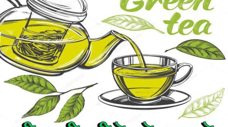 Green Tea Pine ke Faide